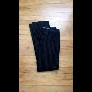 Express Stripped Editor Pants